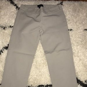 Gray Cropped Pants